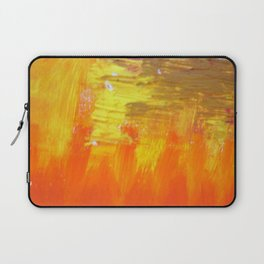 Aflood with gold and rose Laptop Sleeve