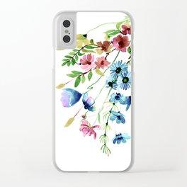 Springtime II Clear iPhone Case