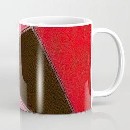 Red Denim Sampler Coffee Mug