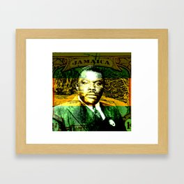 Marcus Garvey Jamaican Freedom fighter Framed Art Print