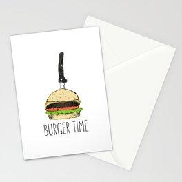 Burger Time sketch Stationery Cards