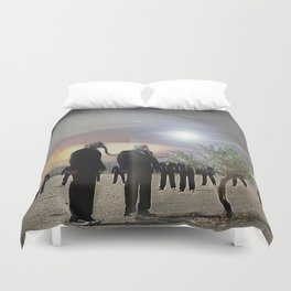 Enjoy it while you can.... Duvet Cover