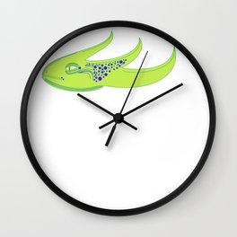 Glizzard Head Wall Clock
