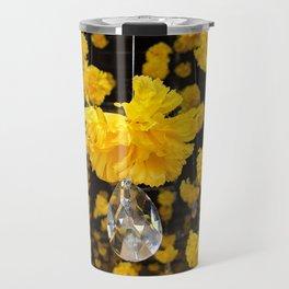 Carnation Crystal Travel Mug