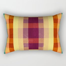 Autumn Winds Abstract  Rectangular Pillow