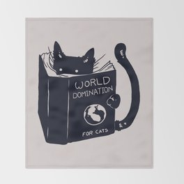 World Domination For Cats Decke
