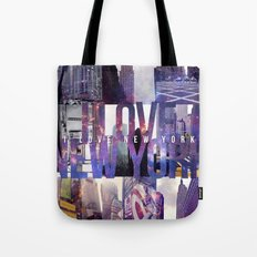 I Love New York [universe] Tote Bag