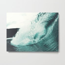 Liquid Motion Metal Print