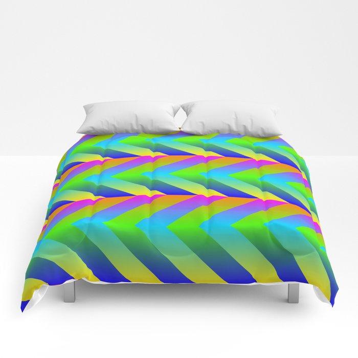 Colorful Gradients Comforters