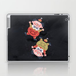 Tweedledee and Tweedledum - Alice in Wonderland Laptop & iPad Skin