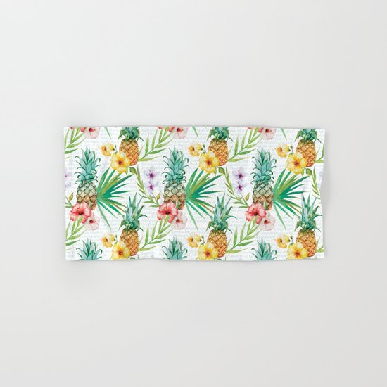 Tropical Summer #13 Hand & Bath Towel