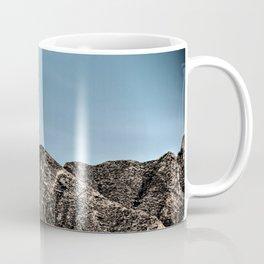 Moon over the Franklin Mountains Coffee Mug