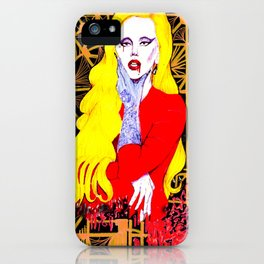 the countess iPhone Case