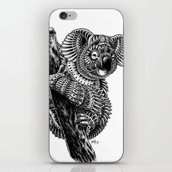 Ornate Koala iPhone & iPod Skin