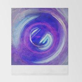 Abstract Mandala 267 Throw Blanket