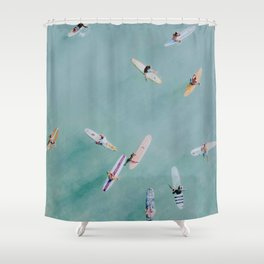 float xviii Shower Curtain