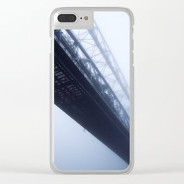 Foggy Lift #2 Clear iPhone Case