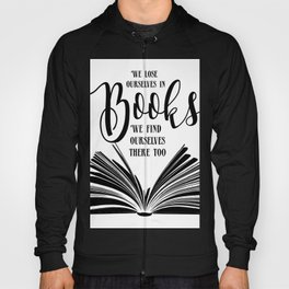 Book Quotes Hoody