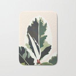 Ficus Bath Mat
