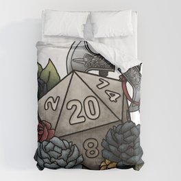 Barbarian Class D20 - Tabletop Gaming Dice Comforters