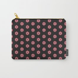 Japanese florals-dotty flowers Carry-All Pouch