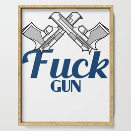 Hate the Gun Control? This is the tee for you! Express your feelings with this awesome tee!  Serving Tray