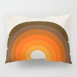 Golden Rainbow Pillow Sham