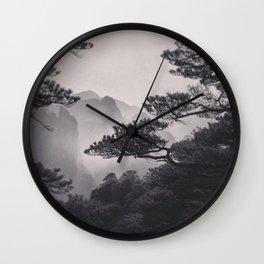 Huangshan Wall Clock