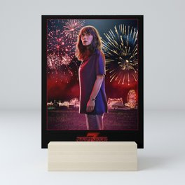 Stranger Thing JoyceByers Mini Art Print