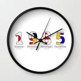 1985 - NAVY - My Year of Birth Wall Clock