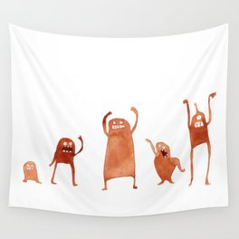 Monster Dance Party Wall Tapestry