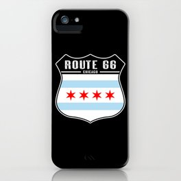 Route 66 Chicago iPhone Case