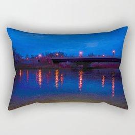 Light Reflections On Water Rectangular Pillow