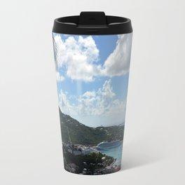 Overlooking the Port at Charlotte Amalie Travel Mug