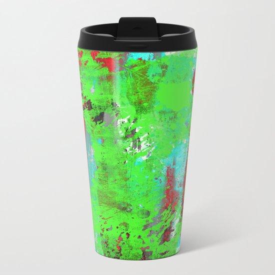 Colour Injection I Metal Travel Mug