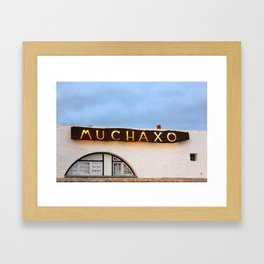 Muchaxo Framed Art Print