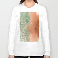 copper Long Sleeve T-shirts featuring Tarnished Copper by Andrea Gingerich