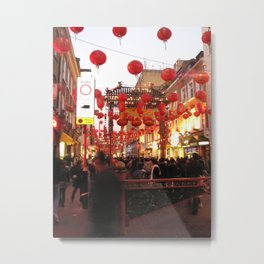Chinese New Year, London Metal Print
