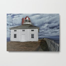 Lighthouse in Newfoundland, Canada Metal Print