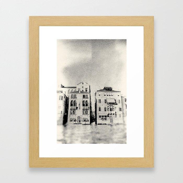 Venice - Study 138 Framed Art Print