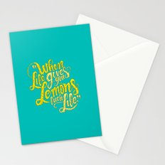 When Life Gives You Lemons... Stationery Cards