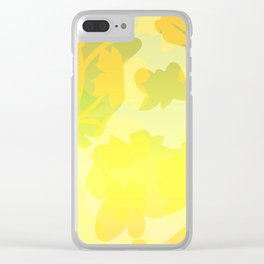 Sassy Sedge - warm colors Clear iPhone Case