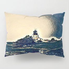 A Light In The Tempest Pillow Sham