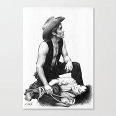 james dean 2 Canvas Print