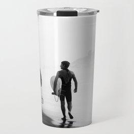 Surfers bond Travel Mug