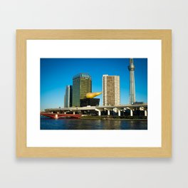 Giant Beer & The Golden Turd Framed Art Print