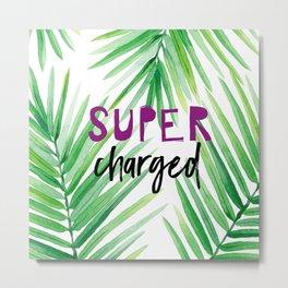 Super Charged Metal Print