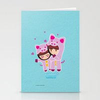 suits Stationery Cards featuring Piggy-Suits by I love Bubbah
