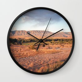 Wyoming Witching Hour Wall Clock