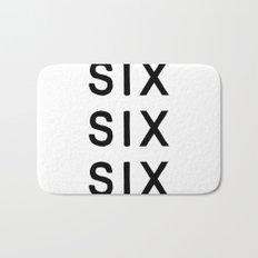 SIX SIX SIX Bath Mat